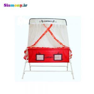 تخت و گهواره نوزاد اسپرینگ مدل ۳۰۵