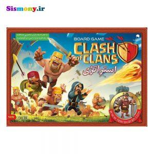 بازی فکری مدل Clash of Clans