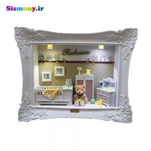 تابلو اتاق کودک مدل جغد