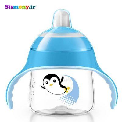 لیوان دهنی دار پنگوئنی ۲۰۰ میلی لیتر کد SCF751/05