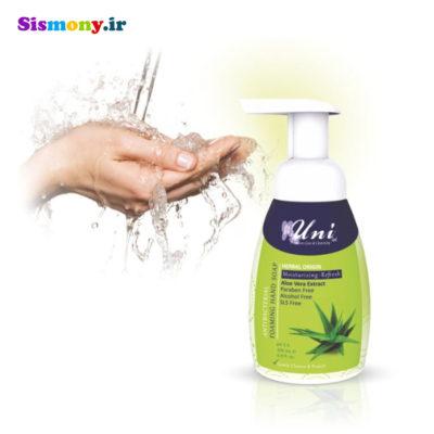 فوم آنتی باکتریال شستشوی دست