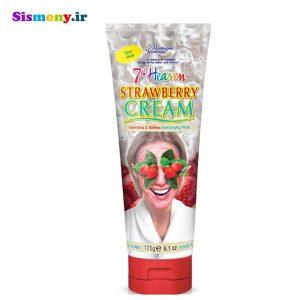 ماسک صورت مونته ژنه سری ۷th Heaven مدل Strawberry Souffle تویوپی
