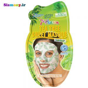 ماسک صورت نقابی مونته ژنه سری ۷th Heaven مدل Tea Tree