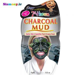 ماسک صورت مونته ژنه سری ۷th Heaven مدل Charcoal حجم ۱۵ میلی لیتر
