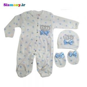 ست لباس نوزادی Eda Baby مدل ۹۱۵۷