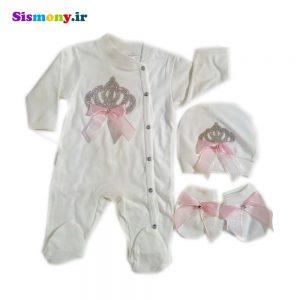 ست لباس نوزادی ادا بیبی مدل ۹۰۲۰