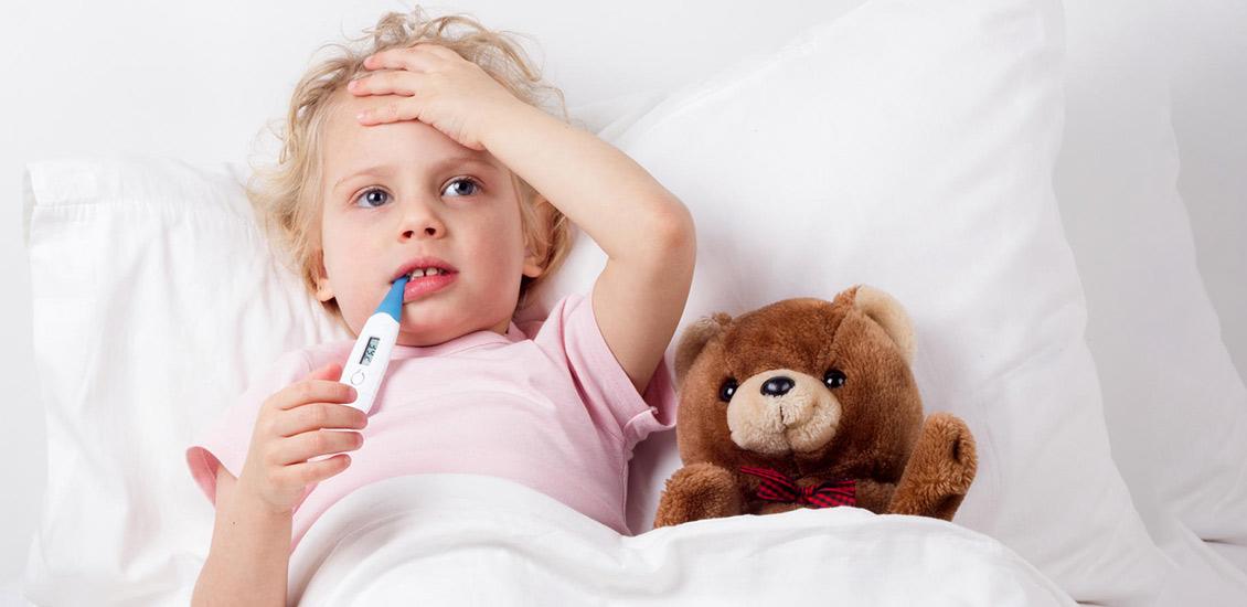 درمان تب کودکان در خانه