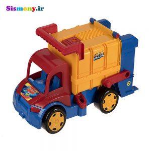 ماشین بازی زرین تویز مدل حمل زباله