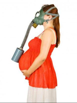 تاثیر آلودگی هوا روی زنان باردار