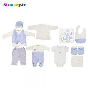 ست لباس نوزادی روزاریو مدل ۴۲۷۲۳۱