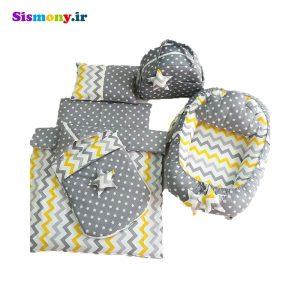 سرویس هفت تکه خواب نوزادی طرح ستاره کد ۵۷۸