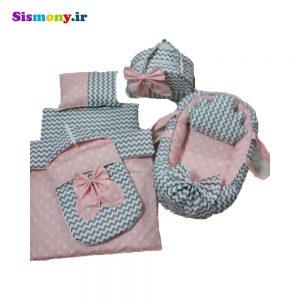 سرویس هفت تکه خواب نوزادی طرح ستاره کد ۸۴۹