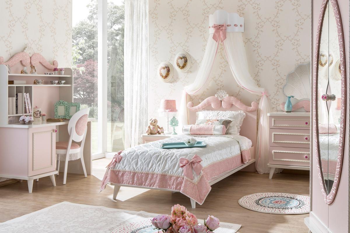 ایده برای تزیین اتاق خواب دخترانه