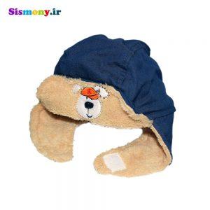 کلاه نوزاد طرح خرس کد Q116