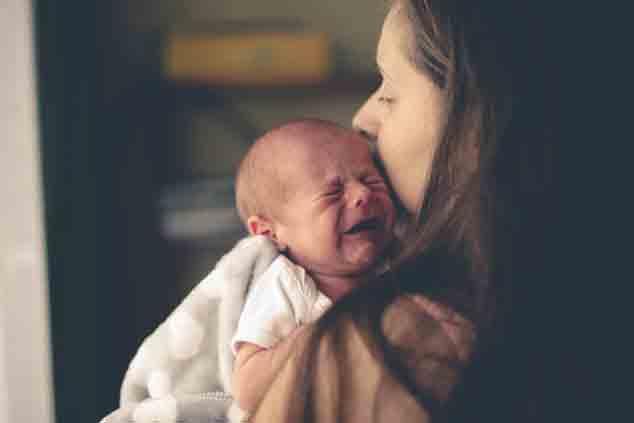 آرام کردن گریه های نوزاد
