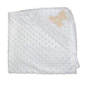 پتو نوزادی خرسی سایز ۹۵×۹۳ سانتیمتر