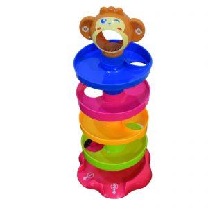 بازی آموزشی توپ و رول مدل میمون