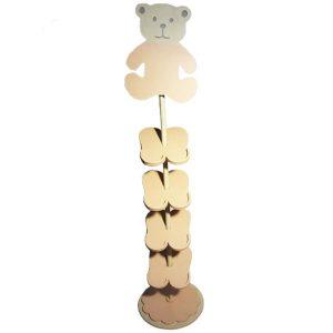 جاکفشی چوبی اتاق کودک پارمیس