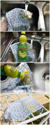از بین بردن لکه های مدفوع نوزاد