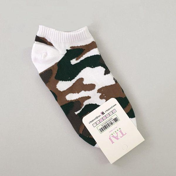 جوراب بچگانه تاج نصیر طرح چریکی