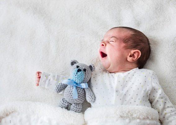 خروپف نوزاد